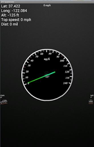 GPS的车速表:公里/英里