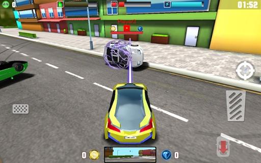 車多人對戰的3D