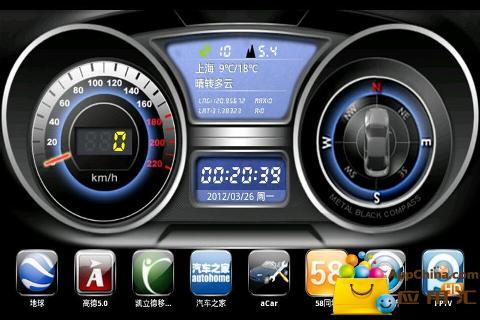 GPS导航一机多图