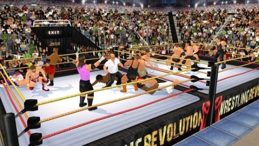 摔角革命3D截图1