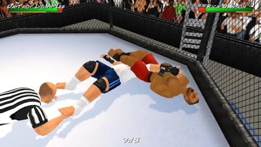 摔角革命3D截图2