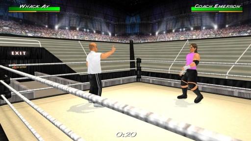 摔角革命3D截图8