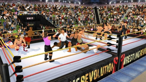 摔角革命3D截图9