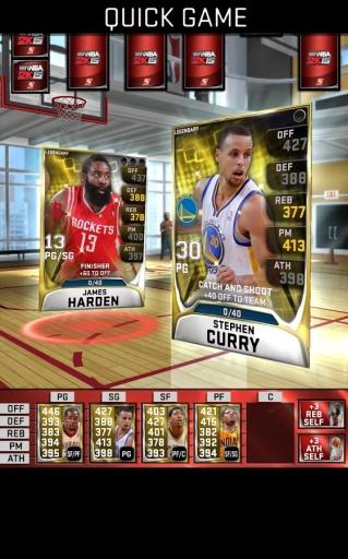 我的NBA2015截图3