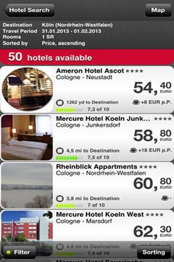 HRS预订全球酒店截图1