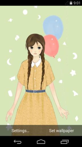 少女的祈祷-梦象动态壁纸截图3