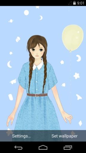 少女的祈祷-梦象动态壁纸截图4