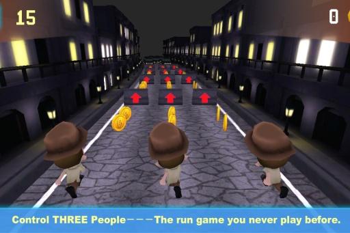 三人跑酷:一个都不能死3D