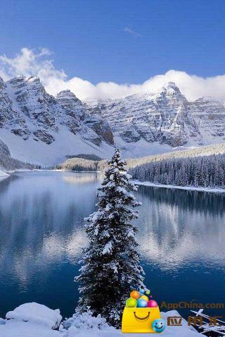 冬日雪景动态壁纸截图2