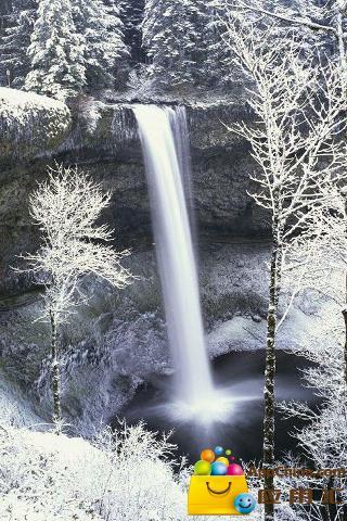 冬日雪景动态壁纸截图3
