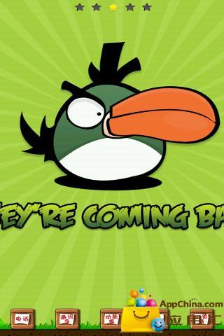 GO主题-气愤的小鸟(绿)
