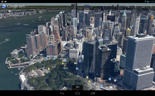 谷歌地球截图1