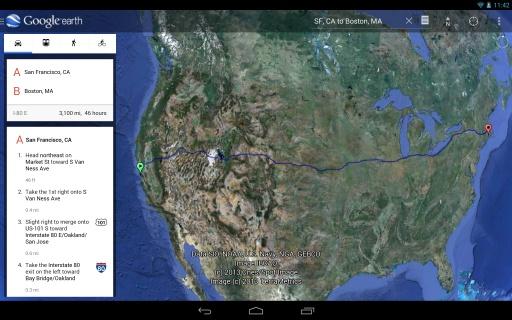 谷歌地球截图4