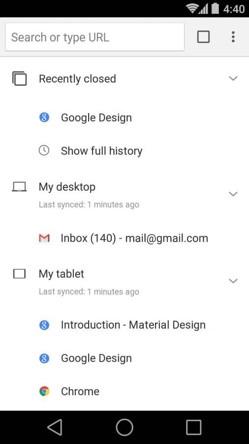 Chrome浏览器截图4