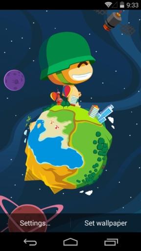 炮炮兵之地球-梦象动态壁纸