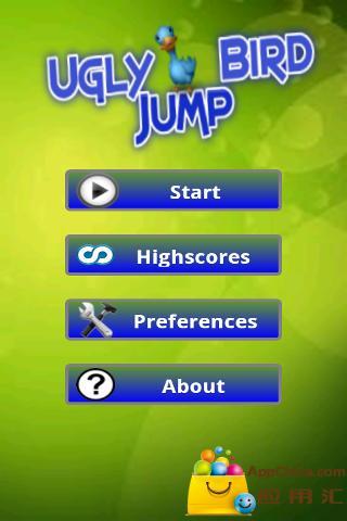 Ugly Bird Jump 丑鸟跳跃截图0