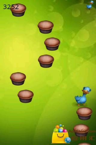 Ugly Bird Jump 丑鸟跳跃截图1