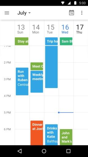 Google日历截图3