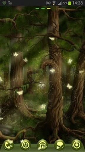 GO Launcher EX Theme 桌面EX主題森林截图1