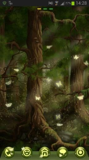 GO Launcher EX Theme 桌面EX主題森林截图10