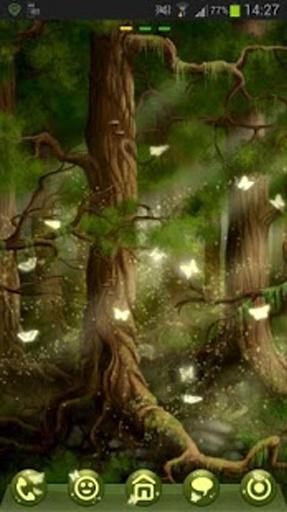 GO Launcher EX Theme 桌面EX主題森林截图2