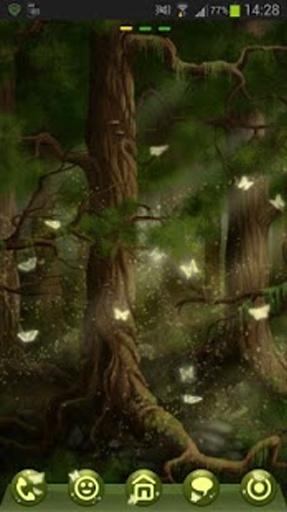 GO Launcher EX Theme 桌面EX主題森林截图4