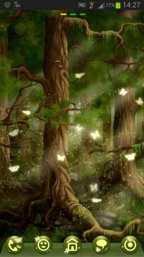 GO Launcher EX Theme 桌面EX主題森林截图7