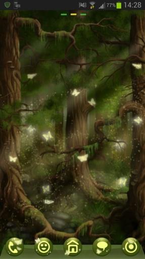 GO Launcher EX Theme 桌面EX主題森林截图9
