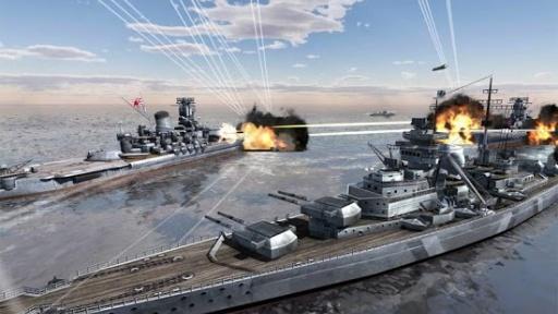 World Warships Combat截图0