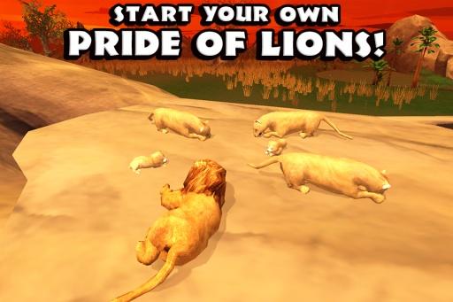 狮子模拟器截图2