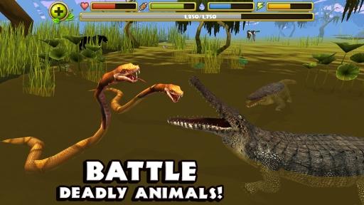 鳄鱼模拟器截图0