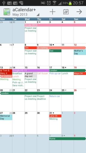 aCalendar+日程安排截图2