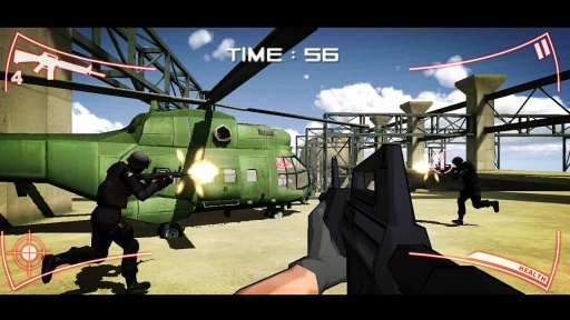 SWAT Strike Shooter Sniper CS截图1