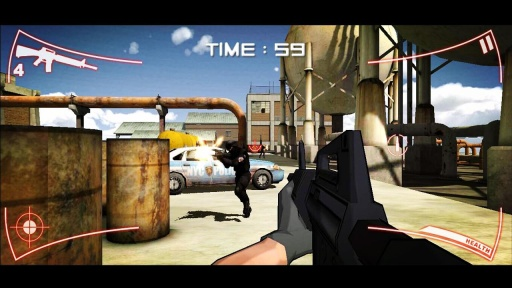 SWAT Strike Shooter Sniper CS截图2