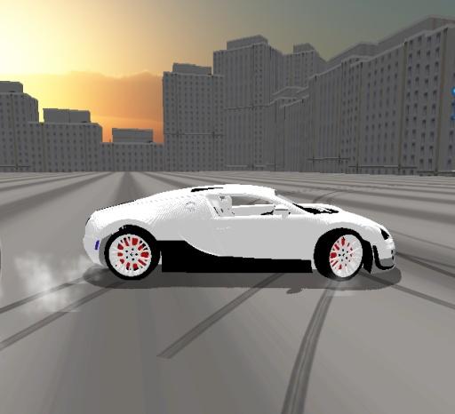 3D跑车漂移模拟器