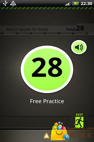 【免費生活App】蹲下练习-APP點子