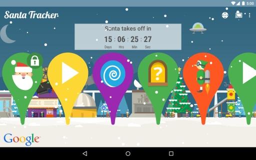 Google追踪圣诞老人截图3