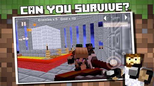 Block Wars : Survival City截图0