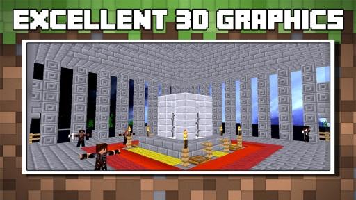 Block Wars : Survival City截图1
