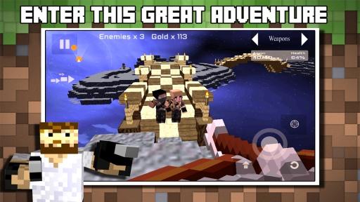 Block Wars : Survival City截图3