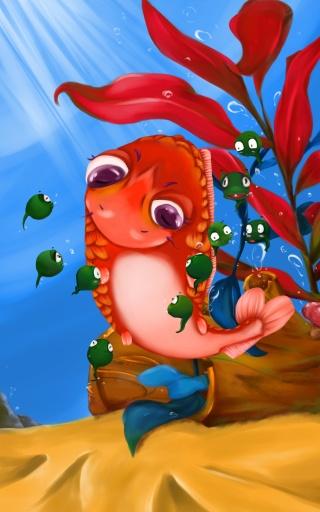 糖果派互动绘本之小蝌蚪找妈妈