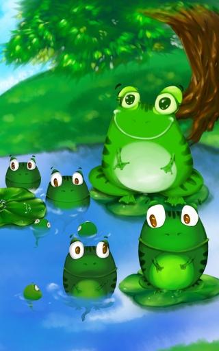 糖果派互动绘本之小蝌蚪找妈妈截图2