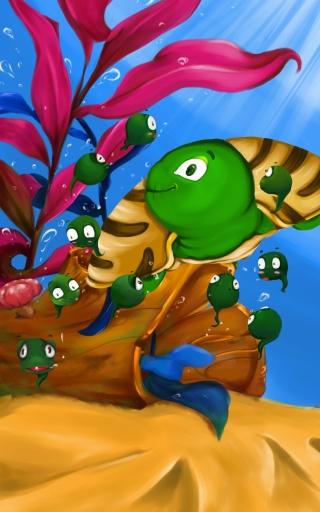 糖果派互动绘本之小蝌蚪找妈妈截图3