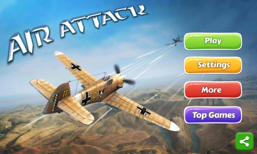 空中攻击是最经典的飞机游戏