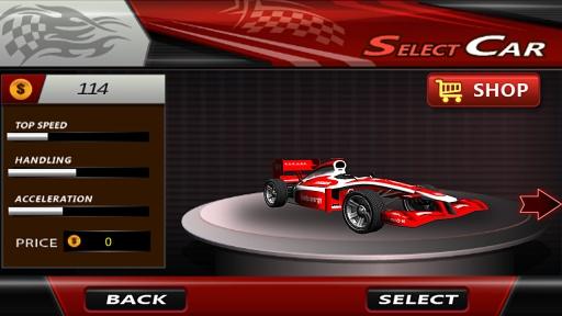RC F1赛车爬坡