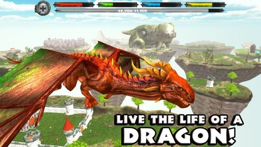 巨龙世界模拟器