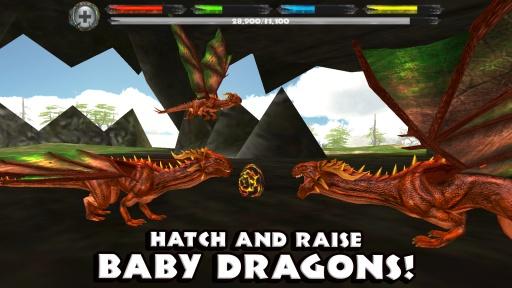 巨龙世界模拟器截图4