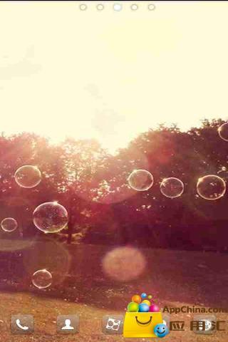 GO主题-阳光泡泡