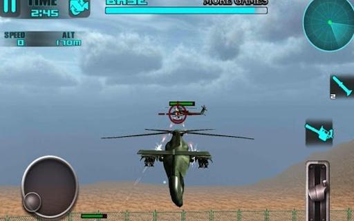 直升机的战斗:3d飞行游戏