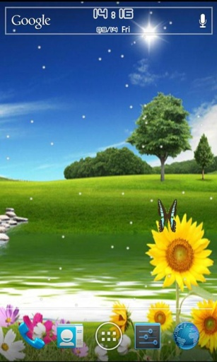 唯美自然风景桌面主题截图4